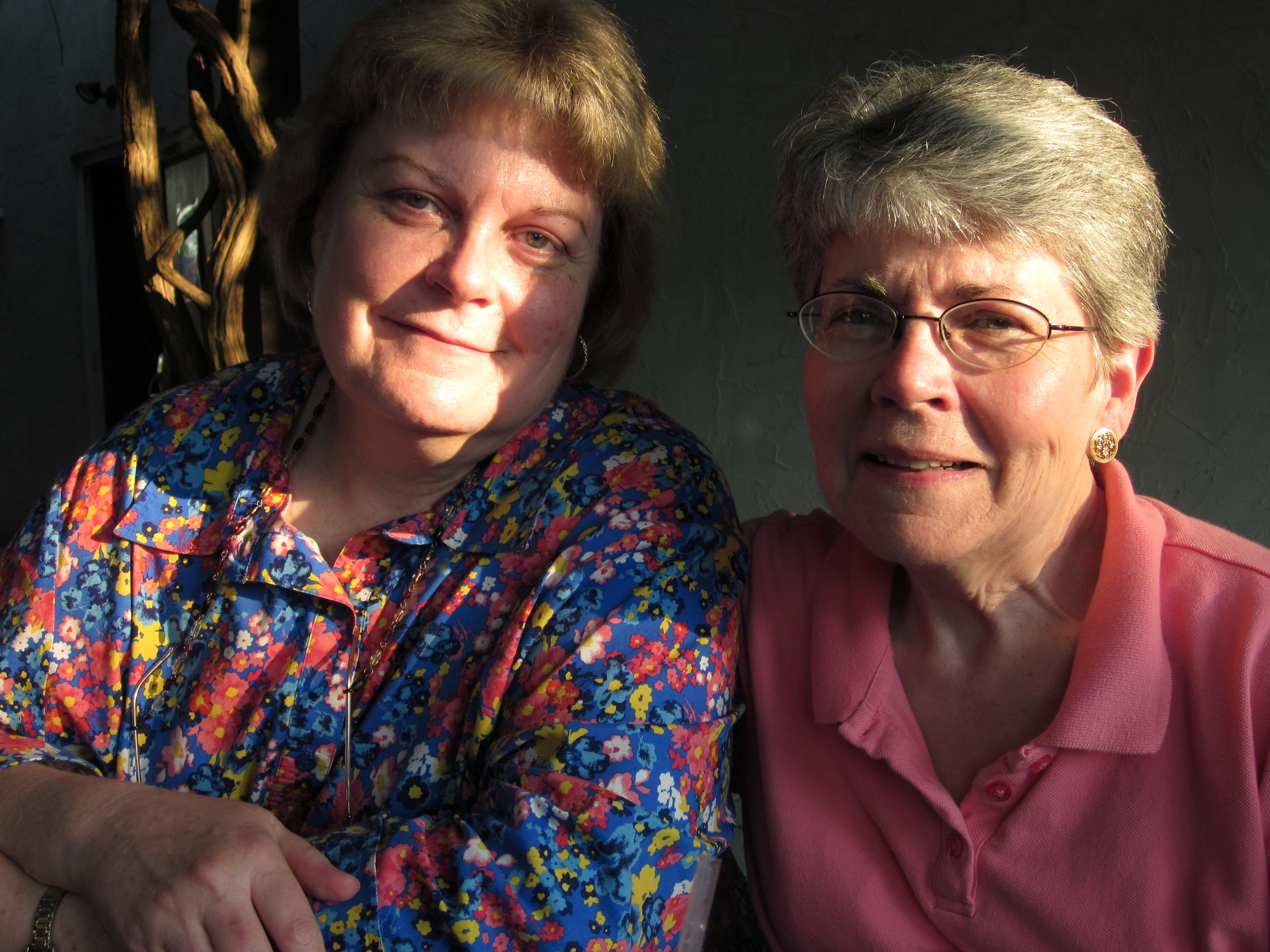 Daughters Kathy (left) and Mary.JPG