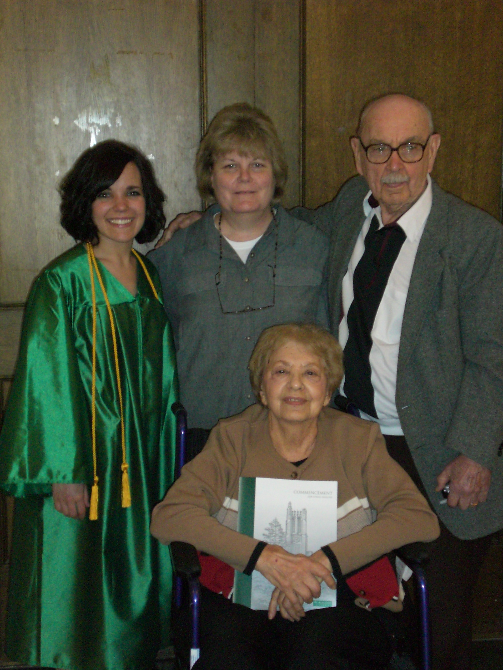 R. J. Reilly with late wife, Lena, daughter Kathy and granddaughter Margaret.JPG