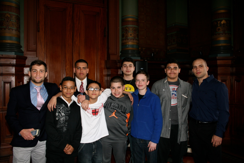 ProJo: Brown's Billy Watterson Leads Effort to Get City Middle Schoolers Wrestling