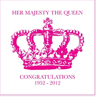 Diamond Jubilee greetings card
