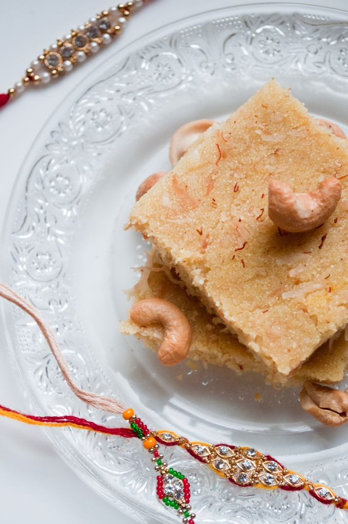 Raksha Bandhan Semolina sweets
