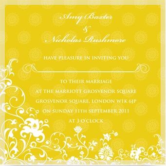 Ananya wedding invitation