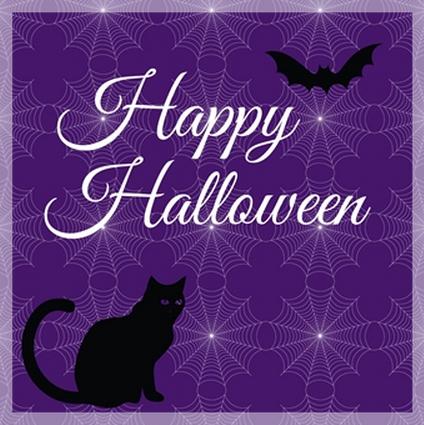Halloween card from Ananya