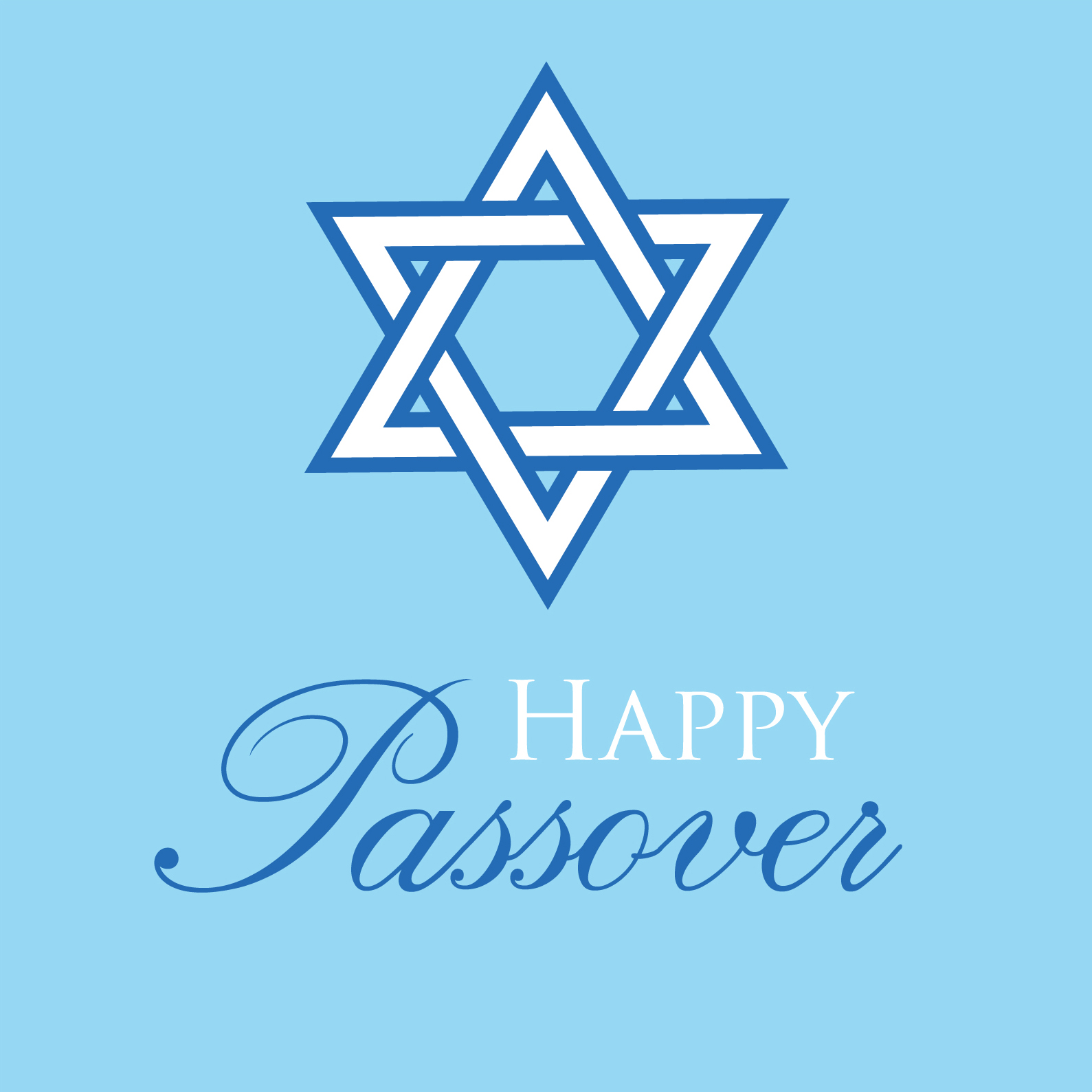 Passover greeting card by Ananya