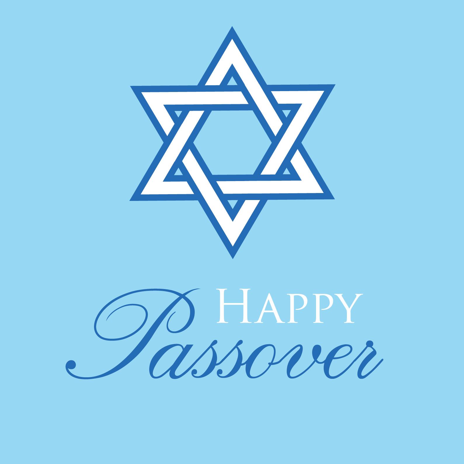 Passover greeting card by Ananya