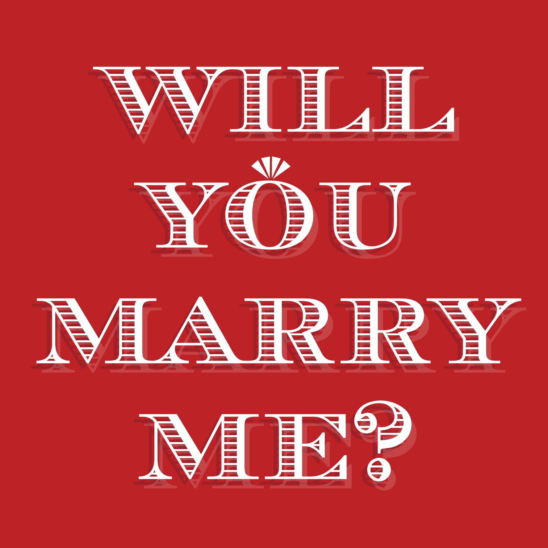 Pretty Proposal card by Ananya