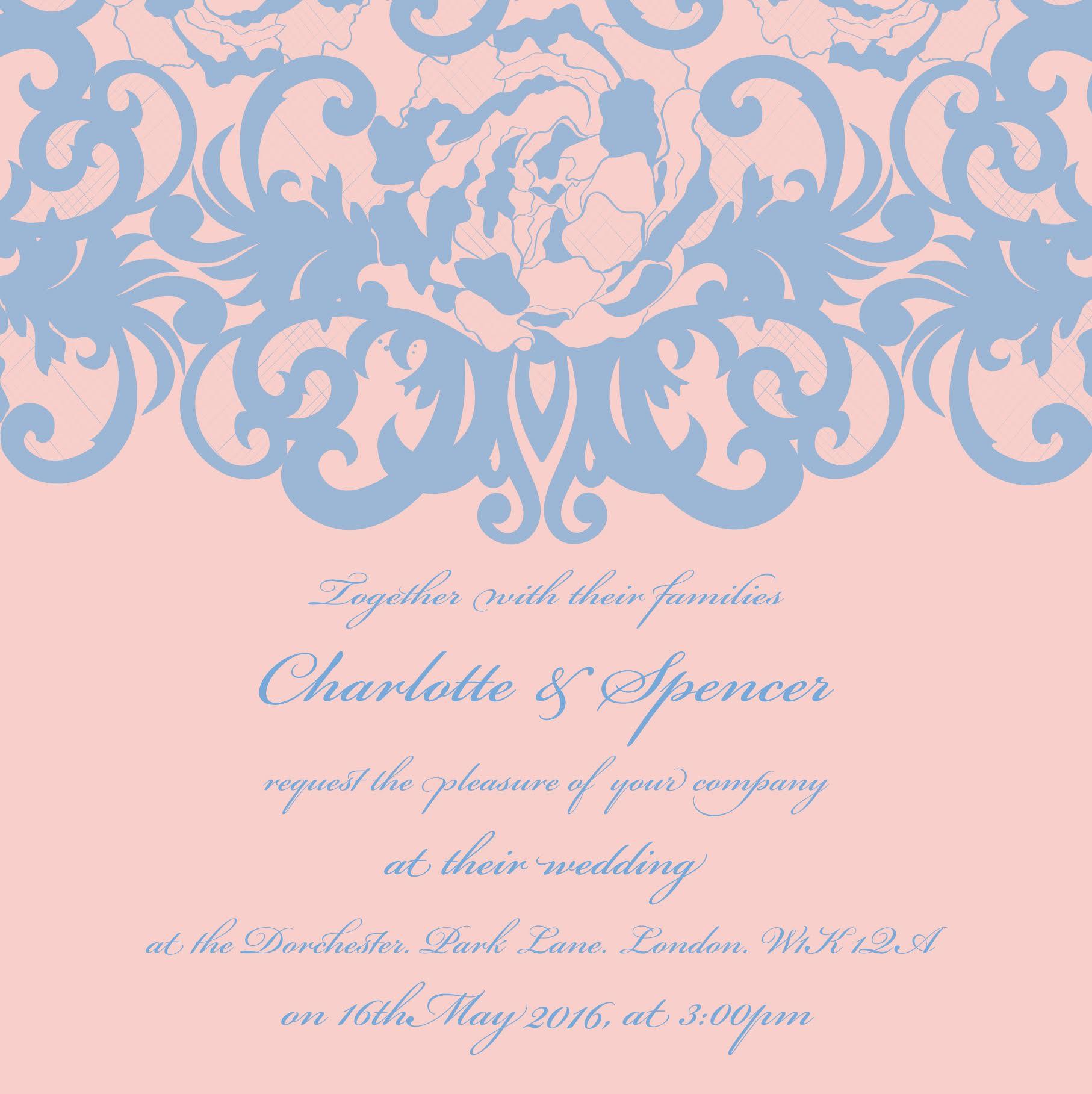 Rose Quartz and Serenity blue...perfect for a Spring Wedding