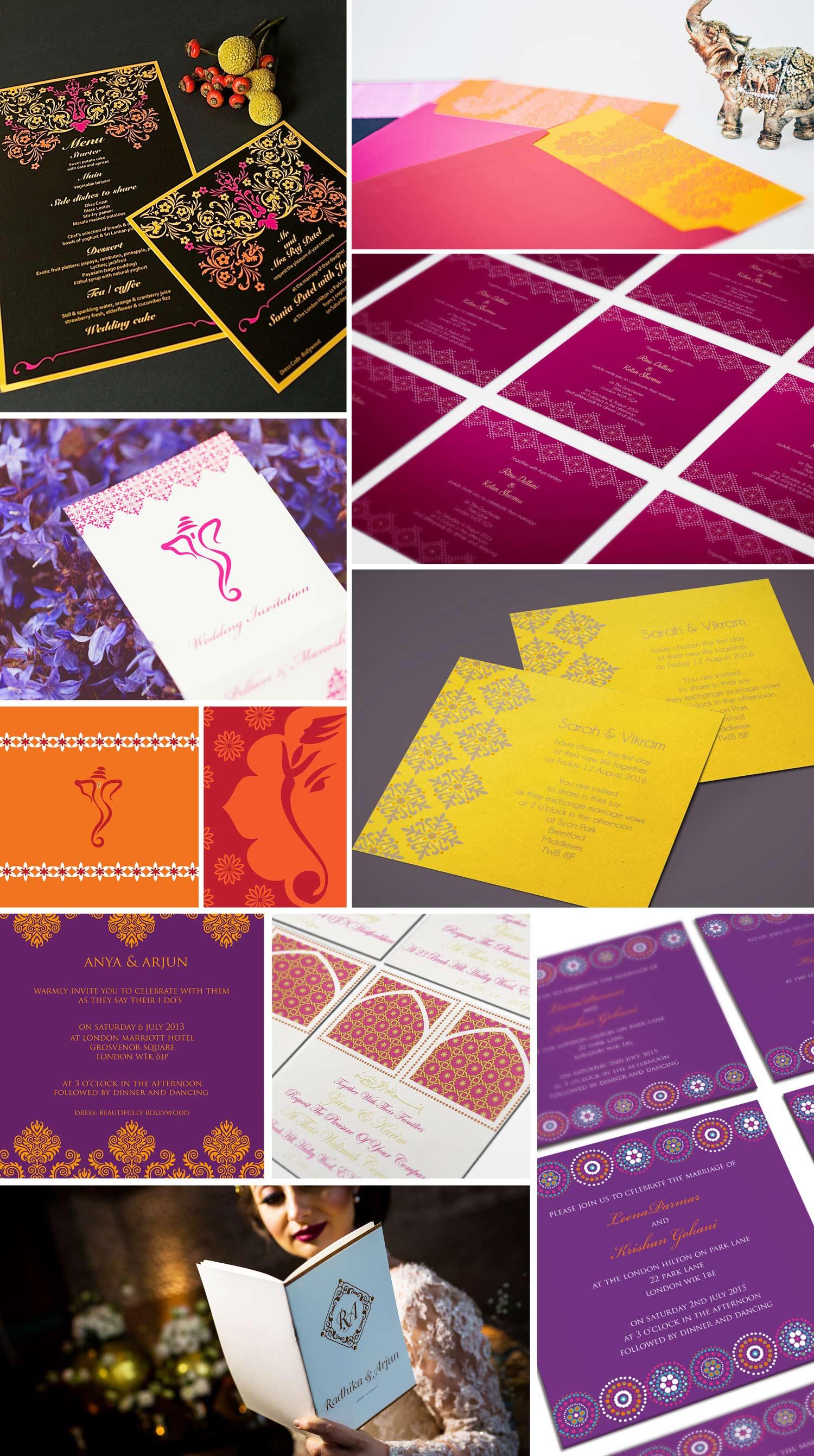Indian Wedding Invitations by Ananya