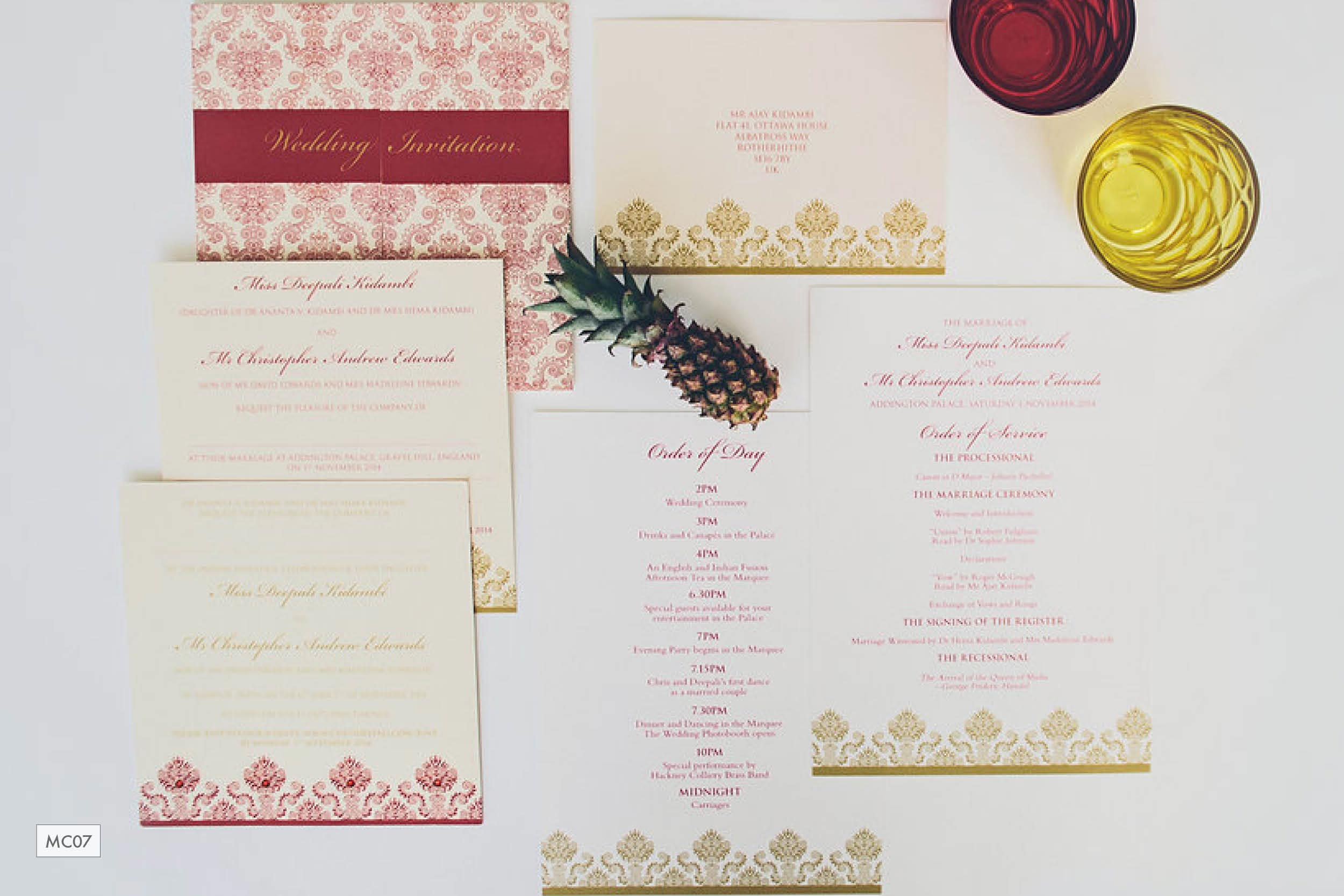 Red-gold-damask-English-Indian-multicultural-wedding-stationery_ananyacards.com.jpg