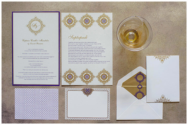 Ananya Stationery photographed by Scott-Wood Photography