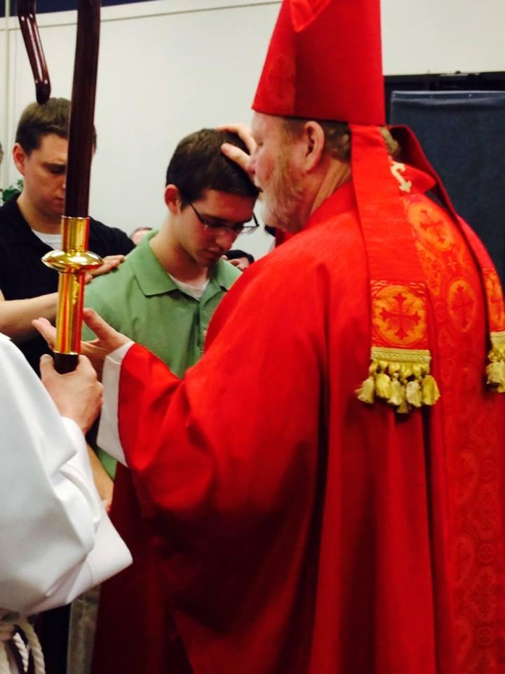 Bishop Chuck Visit
