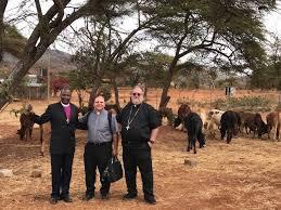 Bishop chuck in africa