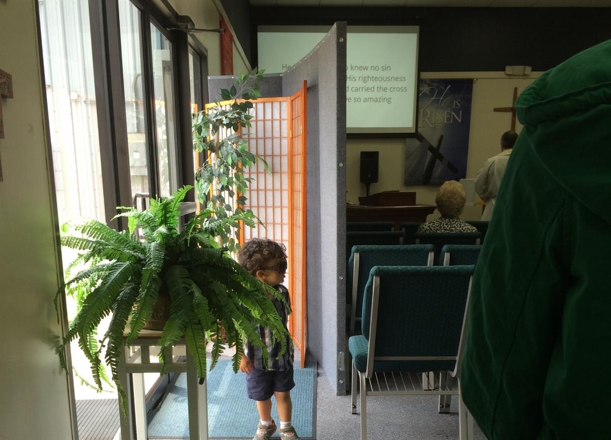 Wednesday - 6:30 pm - Prayer and Eucharist at the church.