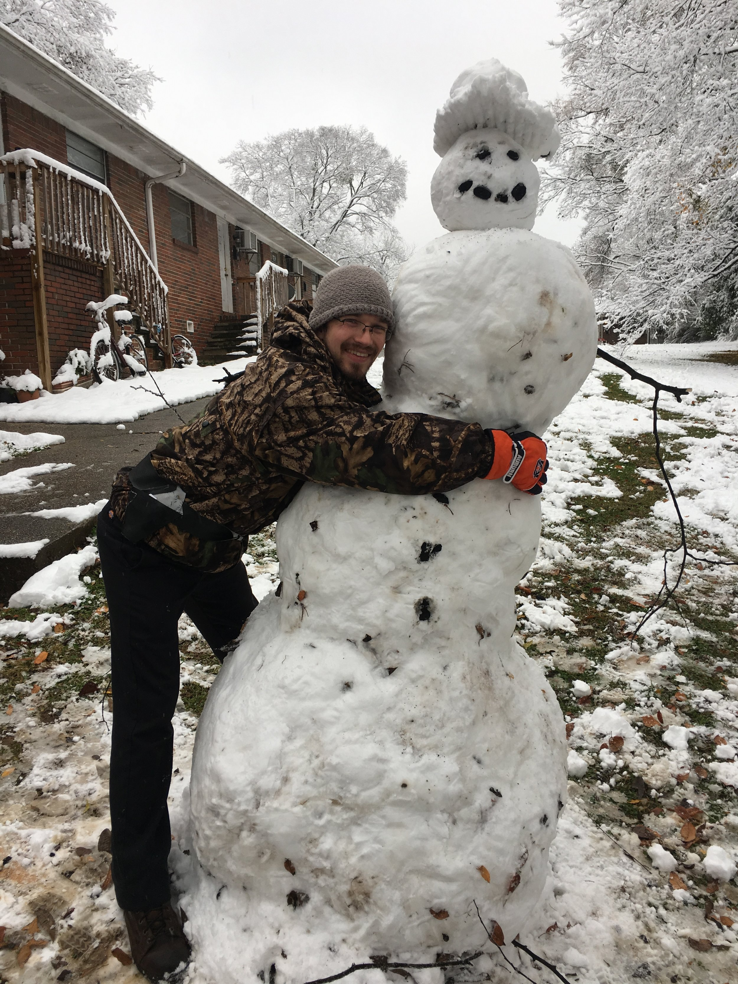 Matthew and Snow-Woman