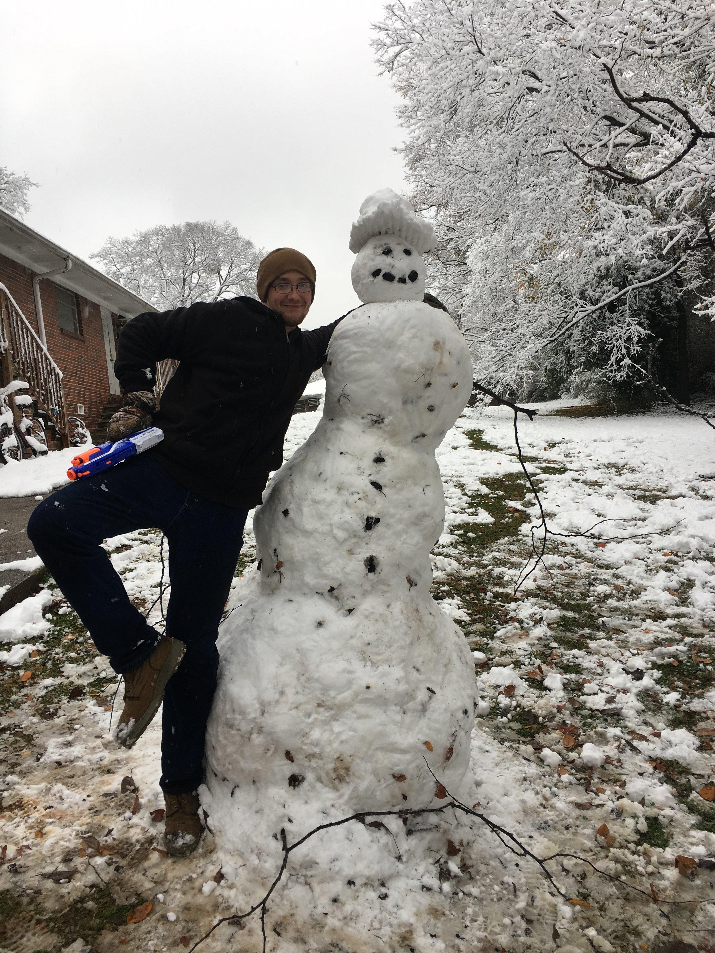 Richardson and Snow-Woman