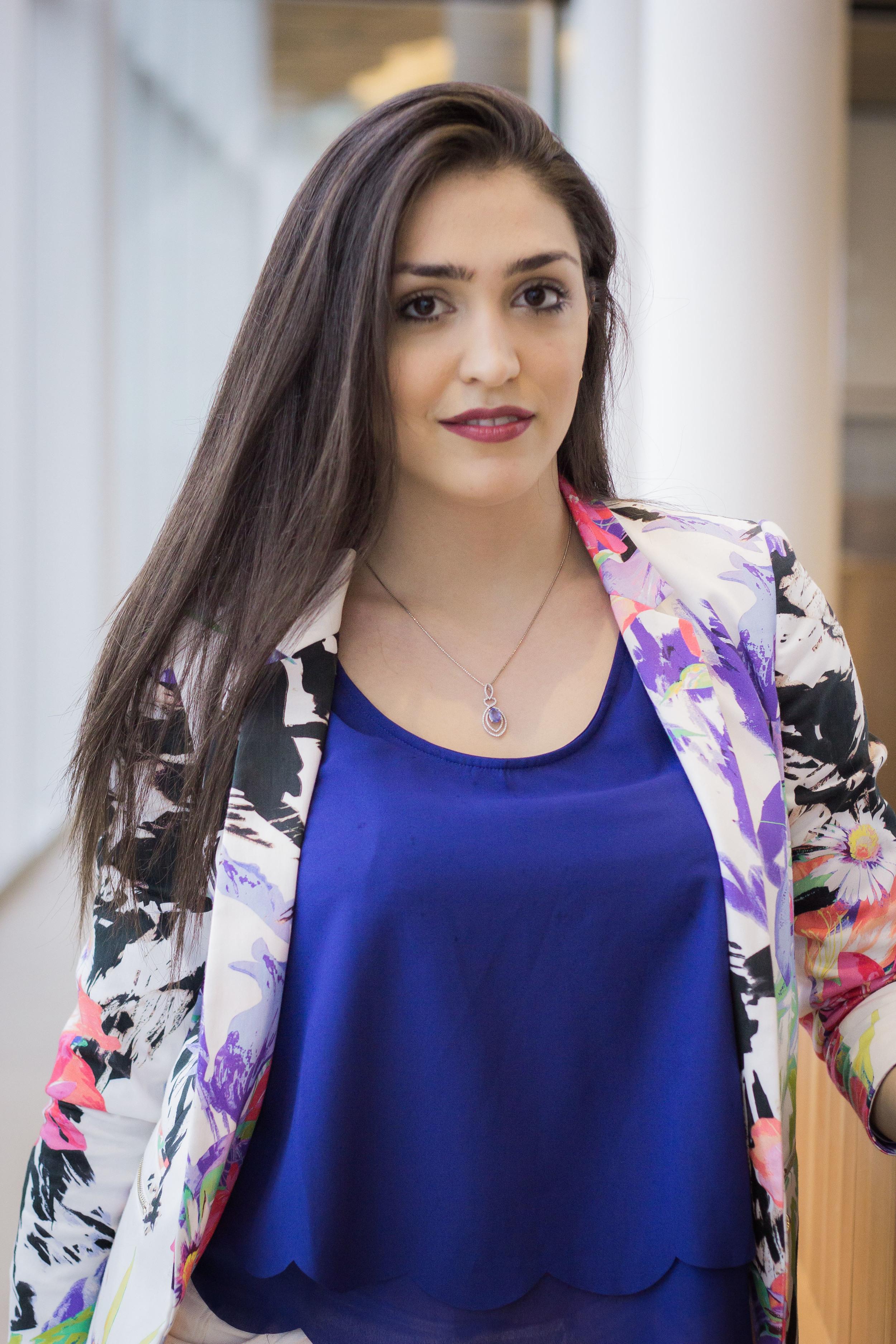 Shiva Ghayemghamian, Marketing Coordinator