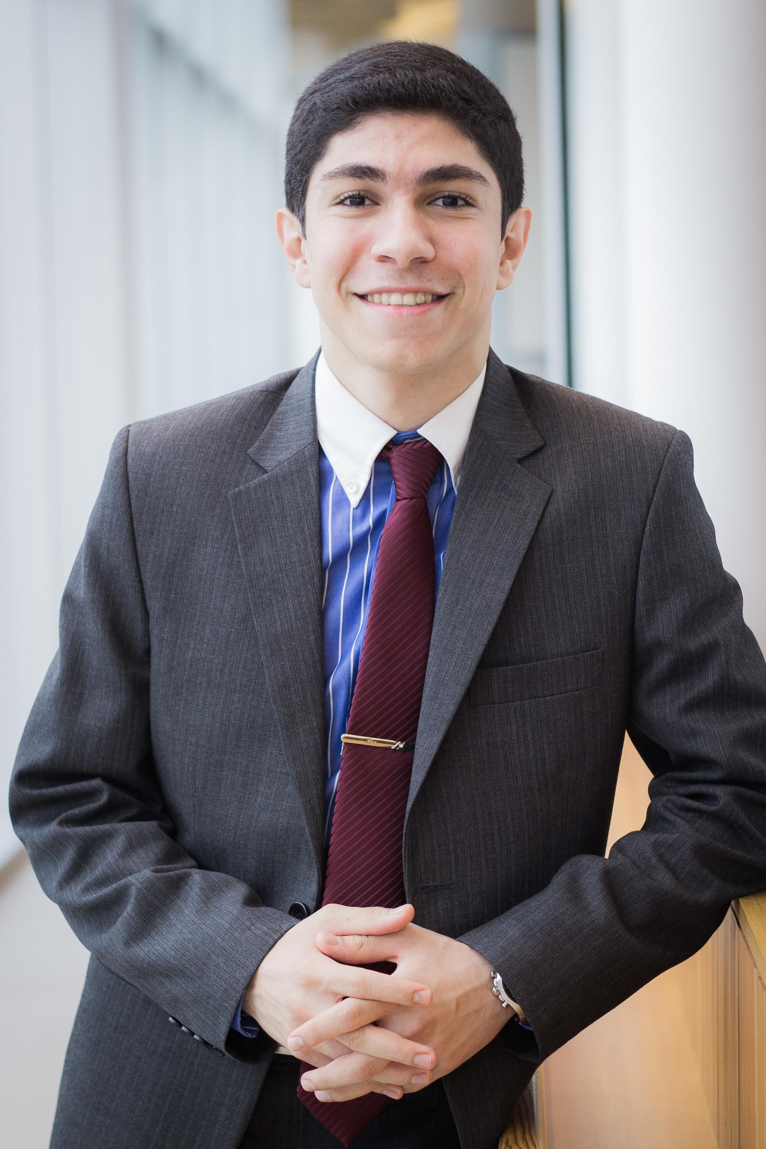 Arian Zand, Finance Coordinator