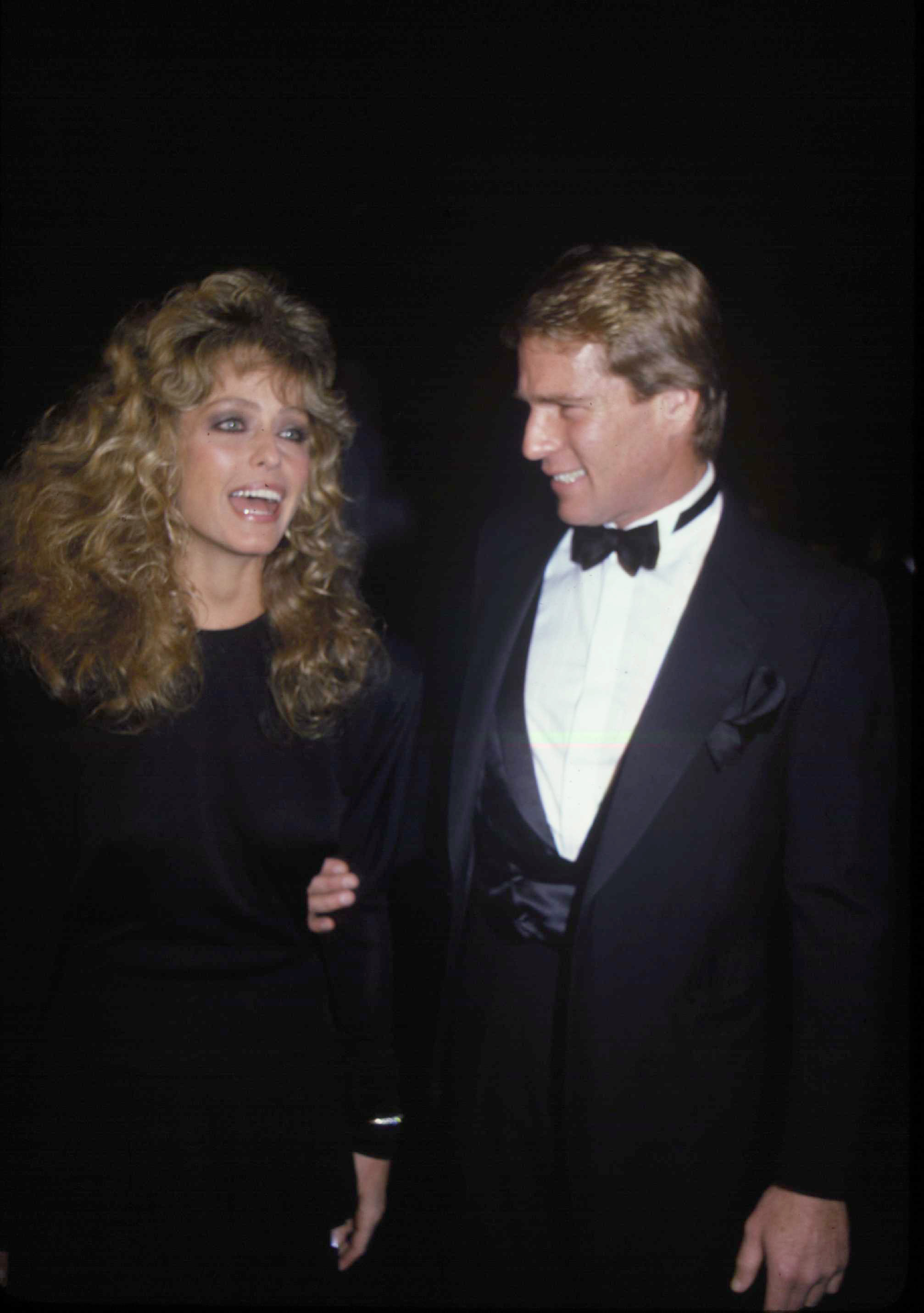 Ryan O'Neil and Farrah fawcett