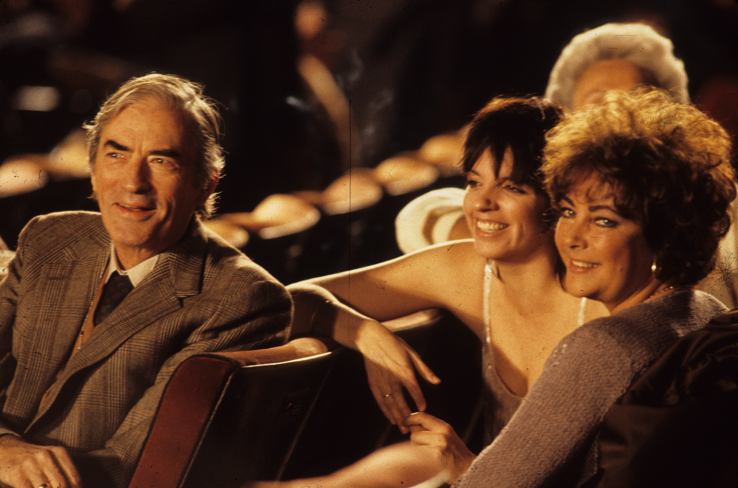 Gregory peck, Elizabeth Taylor and Liza Minnelli