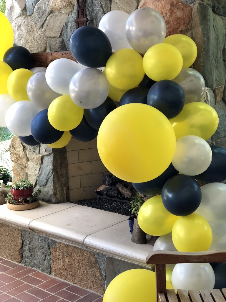 Balloons & Image from Frosting & Fringe Events