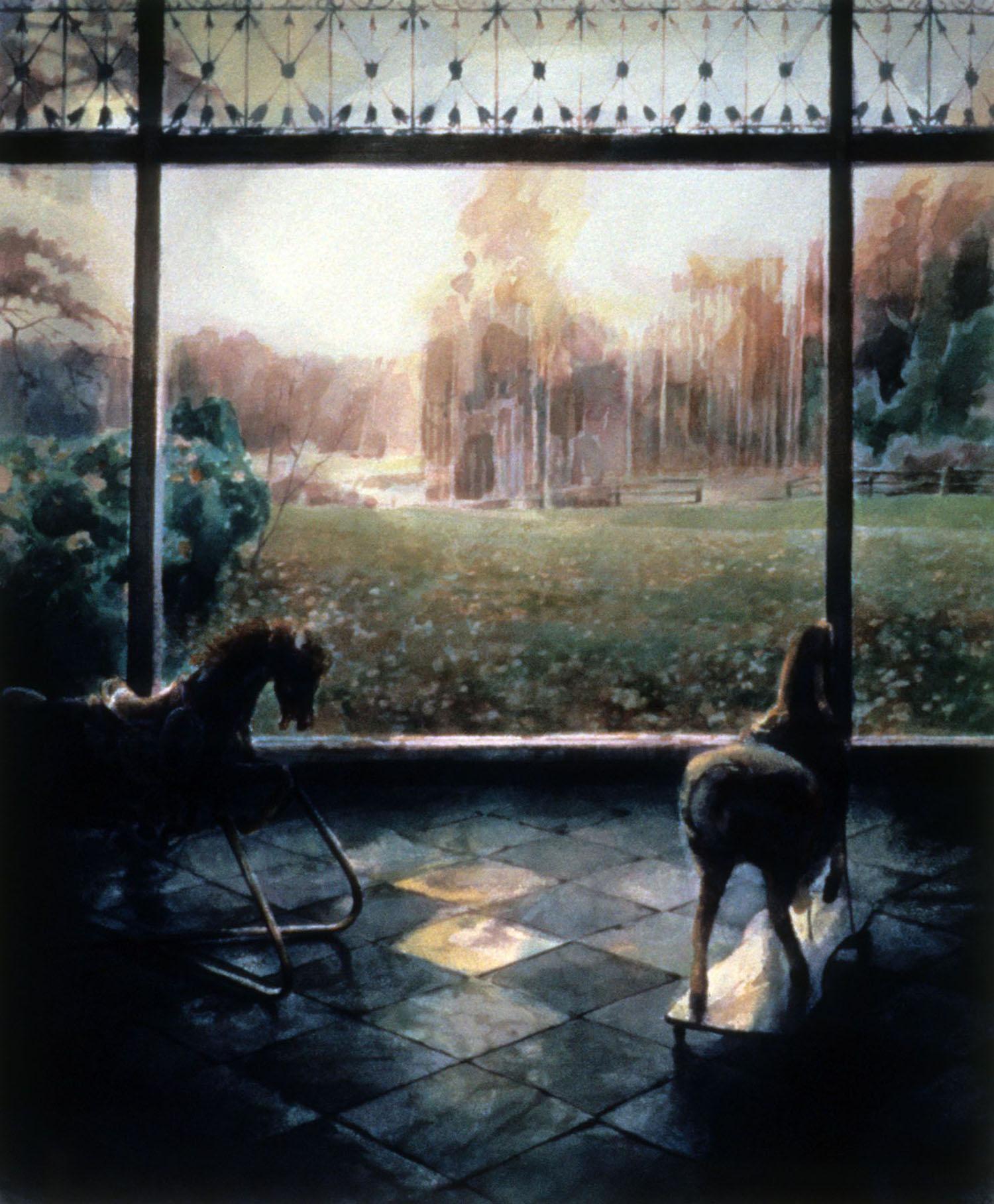 """""""Evening horses"""""""