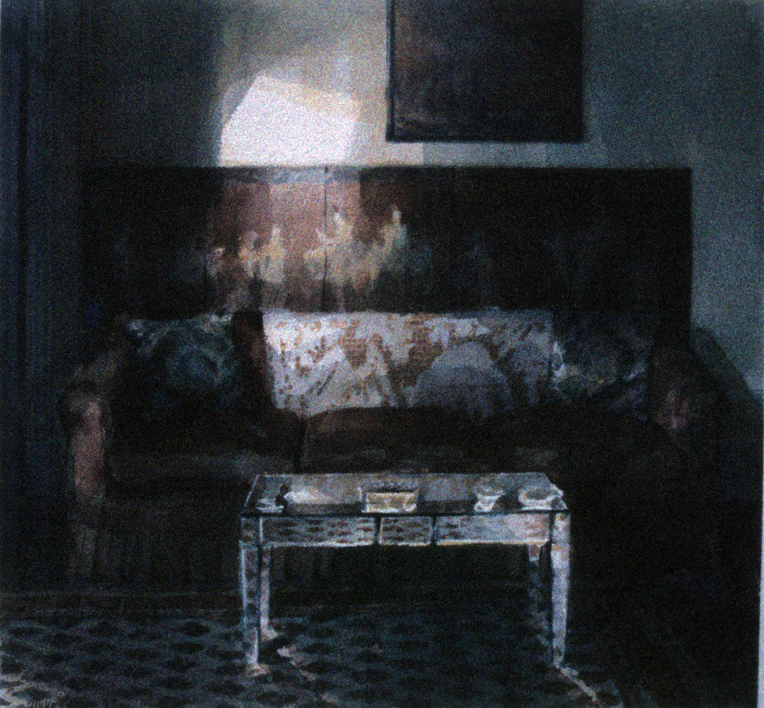 """""""Mirrored table"""" 1987."""