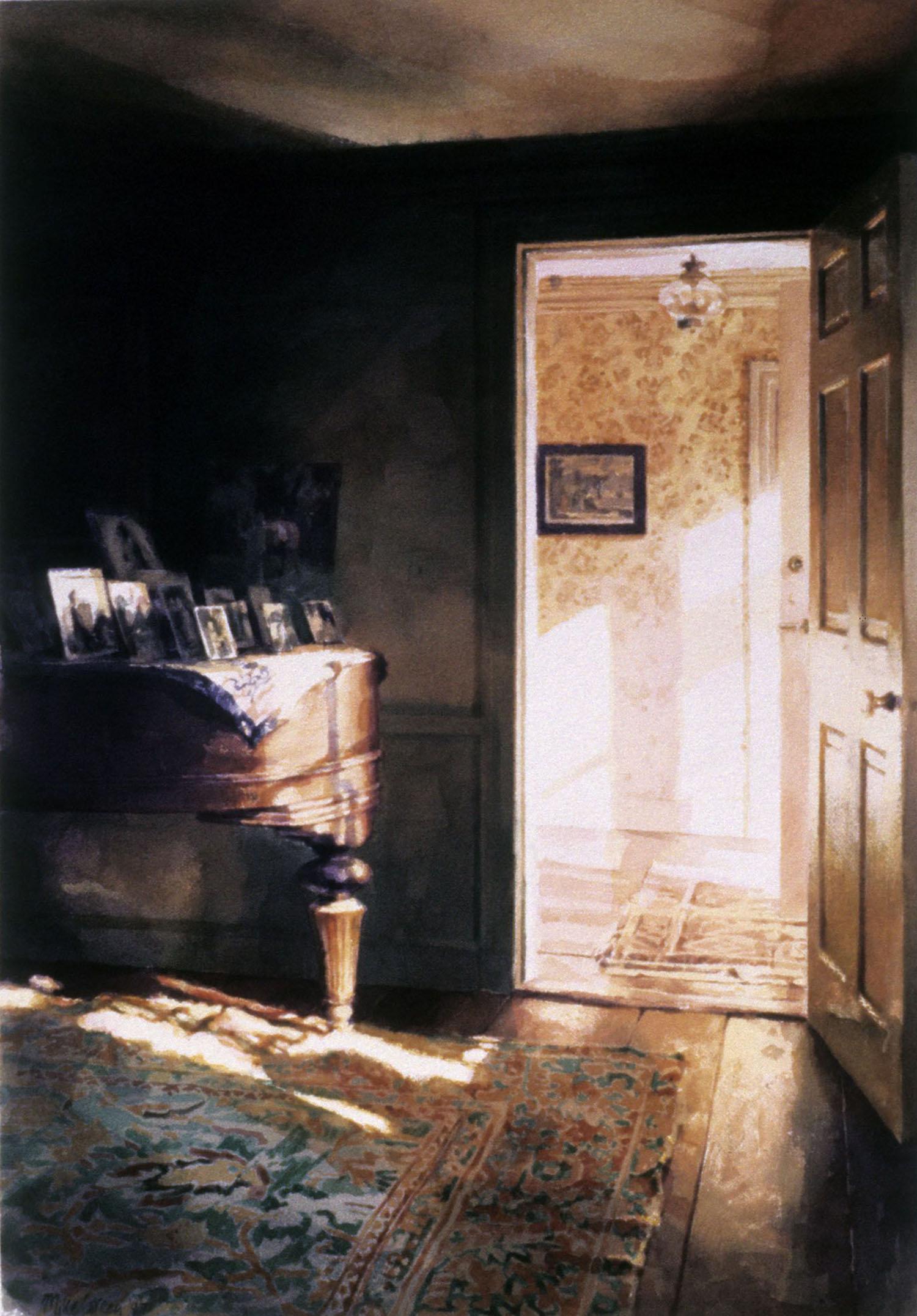 """""""Piano"""" 1987. 70.5 x 78cm"""