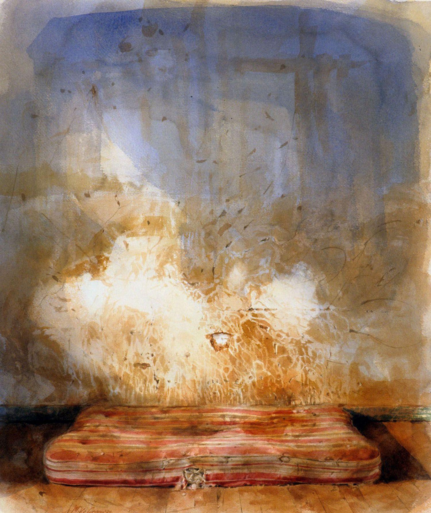 """""""Bullseye"""" 1983. 84 x 71cm"""