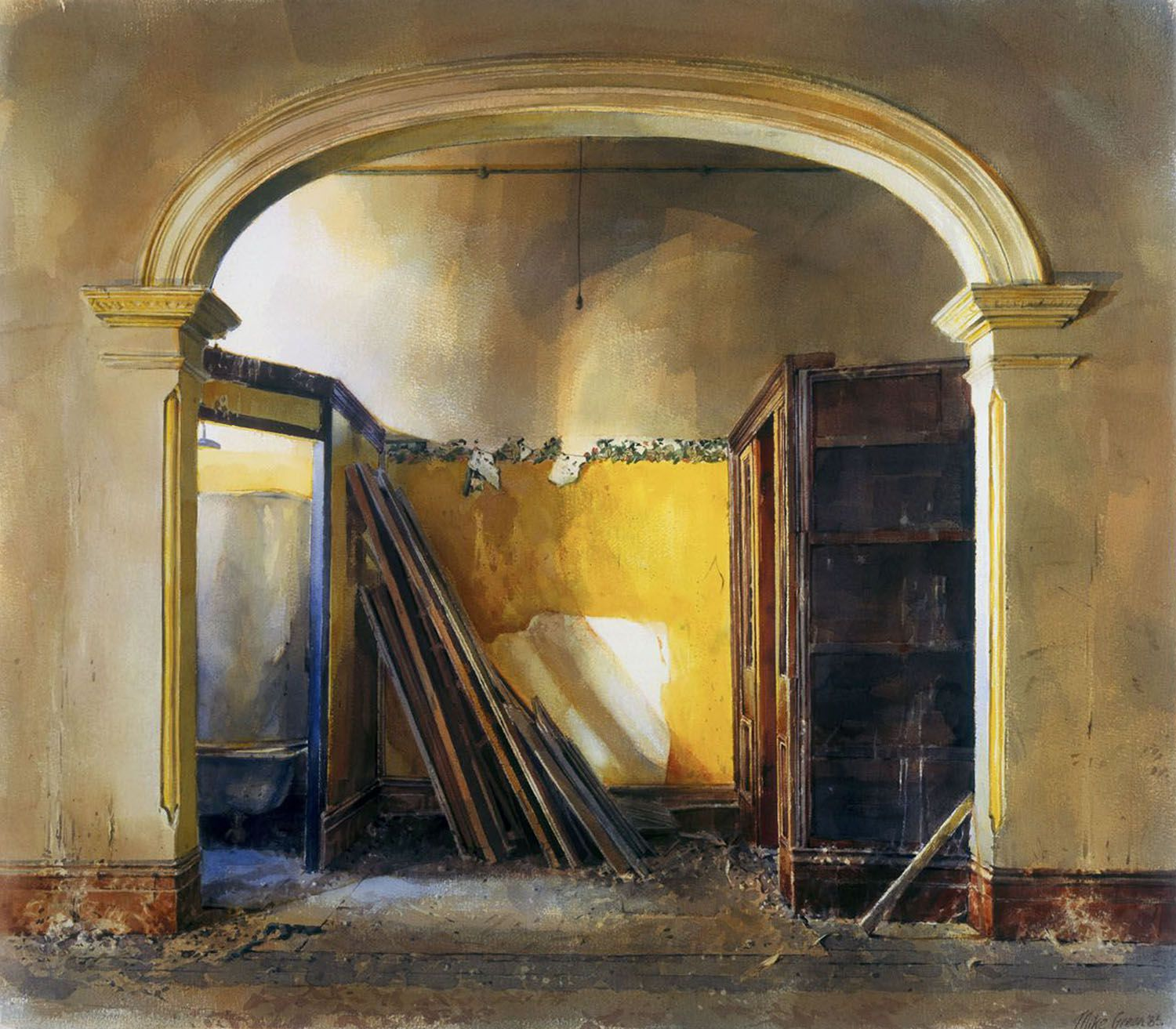 """""""Arch with Yellow"""" 1985"""