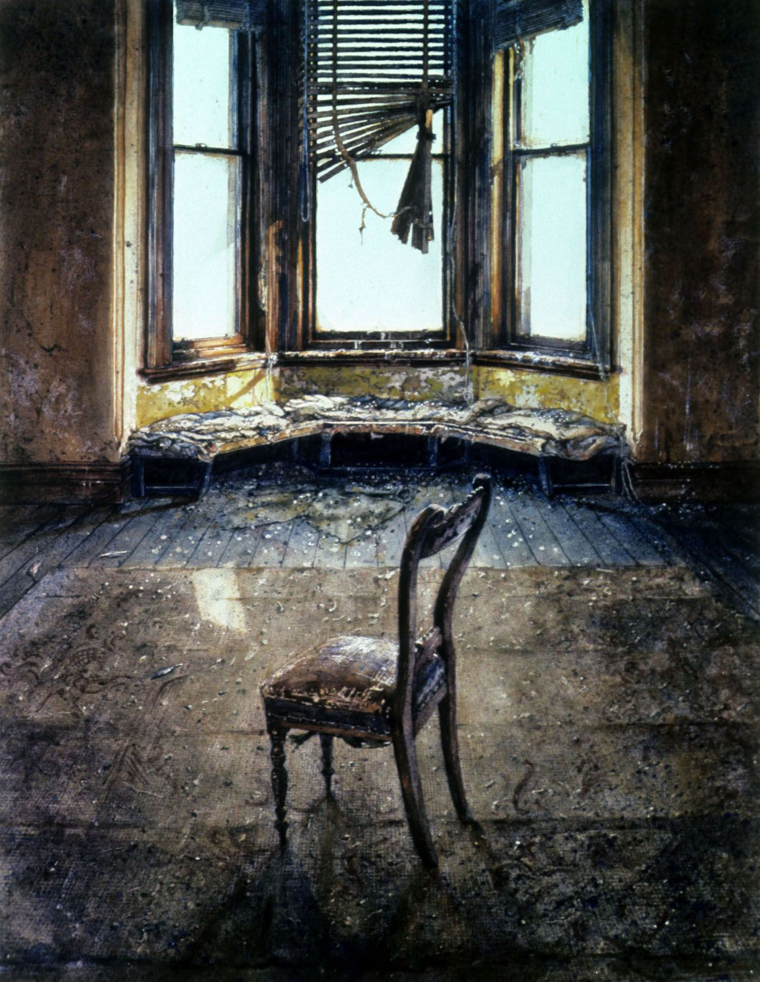 """""""Chair, Mrs Mardell's"""" 1985"""