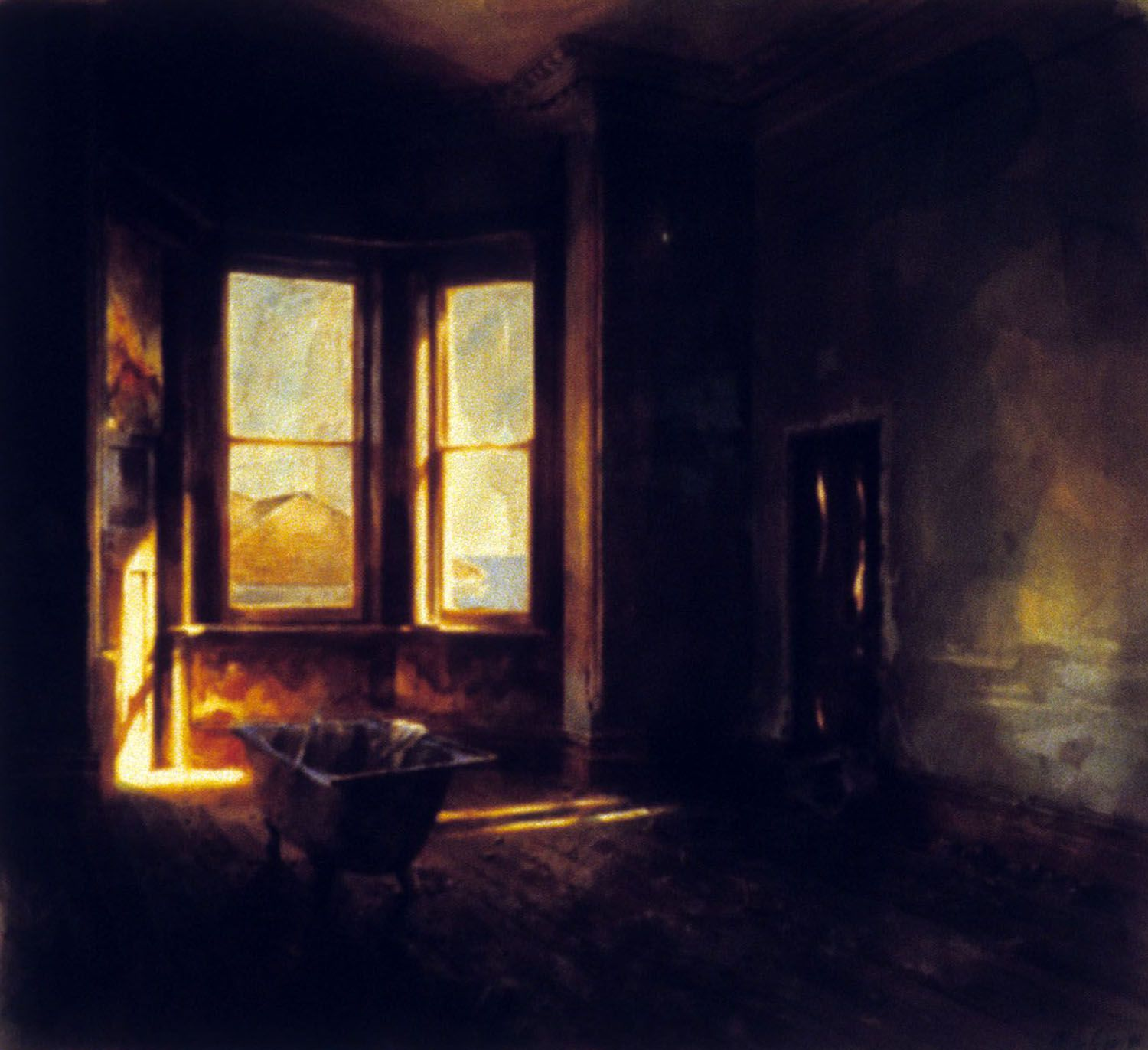 """""""Room with bath, late afternoon""""1985"""