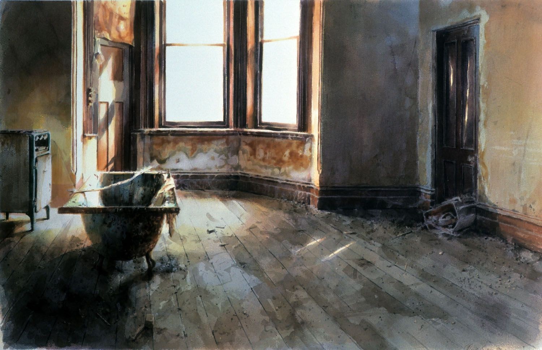 """Room with bath"" 1985"