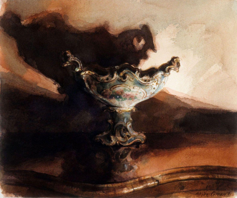 """Fruit bowl with shadow, barwon park"" 1991"