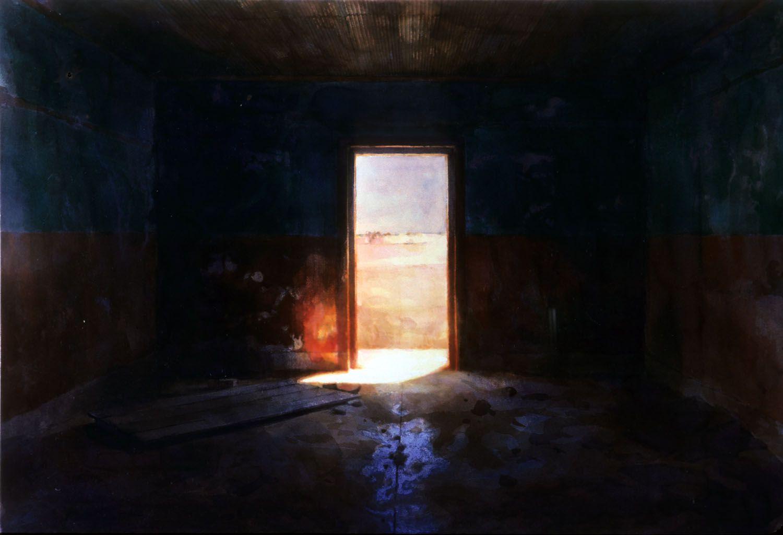 """""""Doorway"""" 1986. 88 x 131cm"""