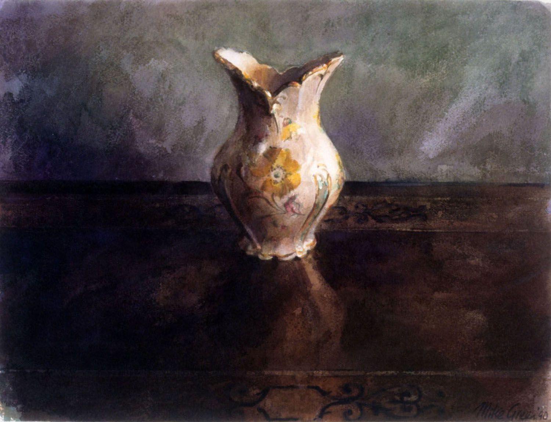 """""""Vase""""1990. 35 x 47cm"""