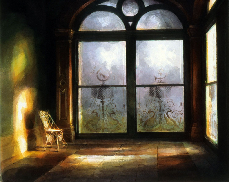 """""""Conservatory, Werribee Park"""", 1988. 81 x 98cm"""