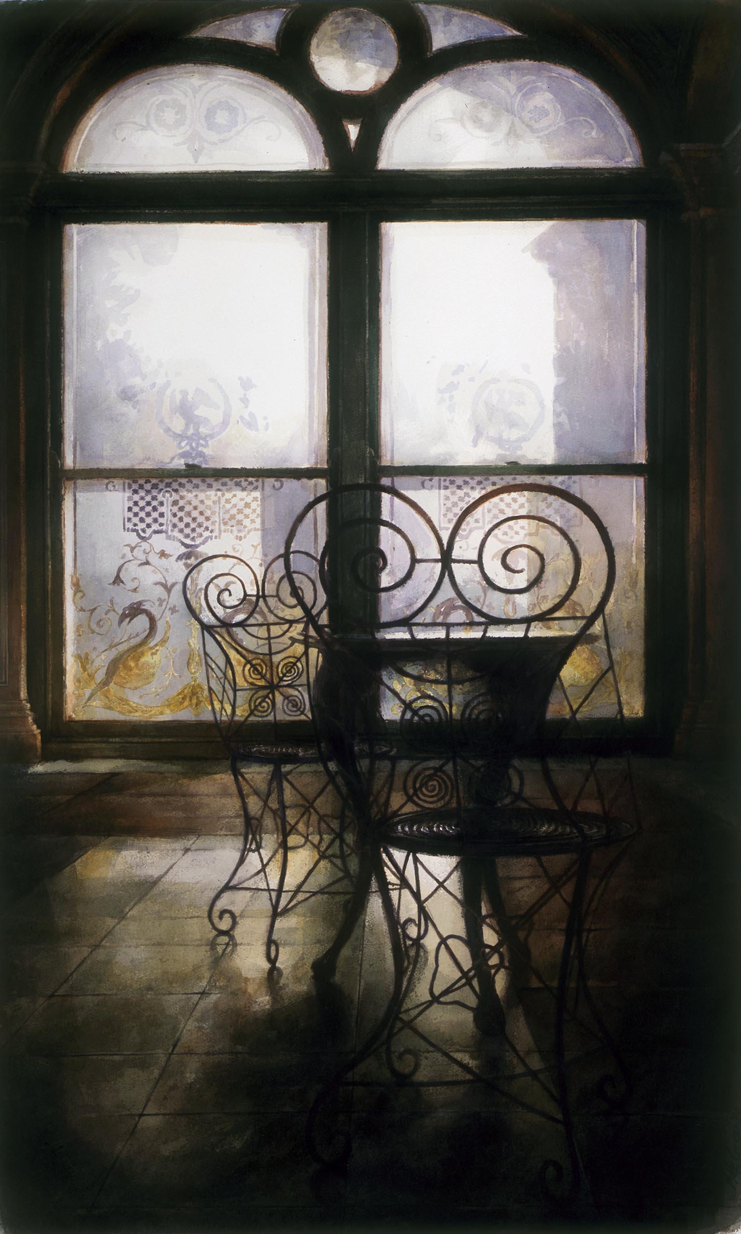 """Conservatory 11, Werribee park""' 1988"