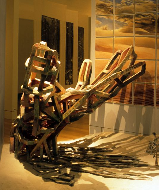 Instilation Global Arts Link, 1998.
