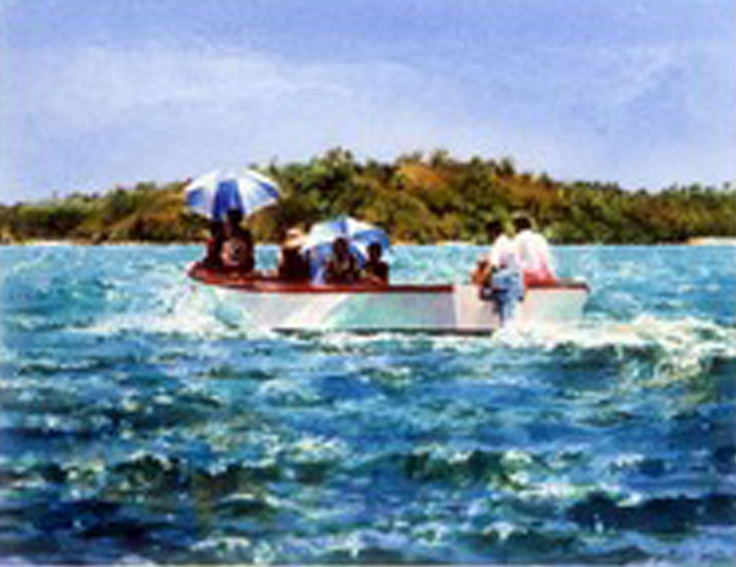 """""""Sun umbrellas on Blue Lagoon"""""""