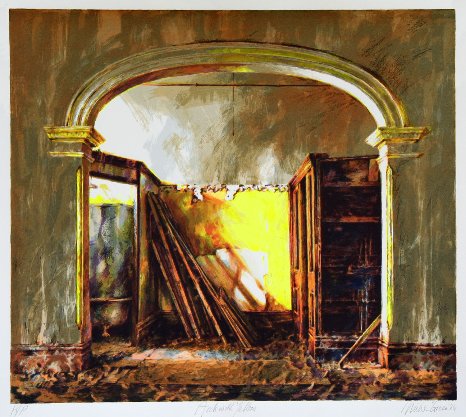 """Arch with yellow"""