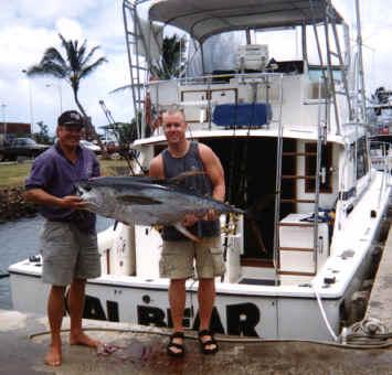 Kauai fishing charter boat Kai Bear