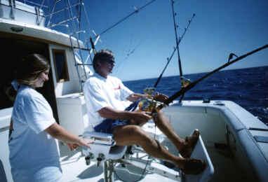 Kauai fishing charter on Grander