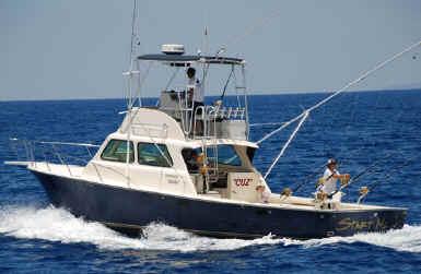 Hawaii fishing charter in Maui, Hawaii
