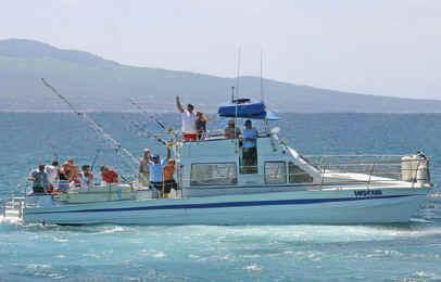 Maui bottom fishing charter, Maui, Hawaii
