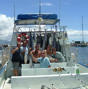 Private large group Maui fishing trip