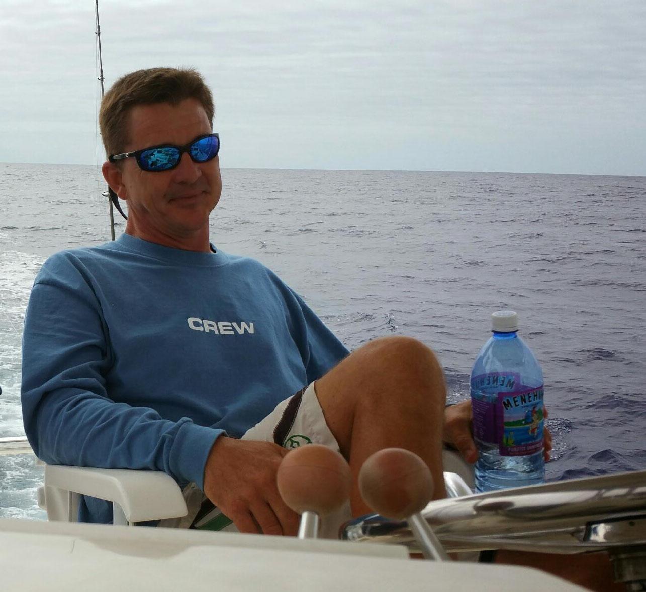 Captain Mike Strait, Wild Bunch Sportfishing, Oahu, Hawaii