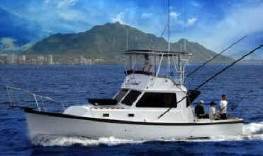 Hawaii fishing charter boat Sashimi I