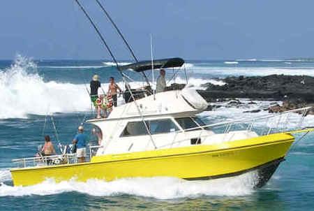 Hawaii fishing charter in Kona, Hawaii