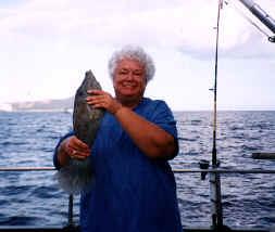 Hawaii near shore bottom fishing catch