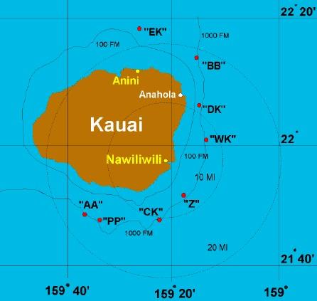 Kauai, Hawaii Fishing Grounds